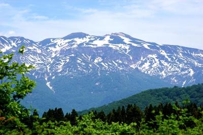 白山連峰写真